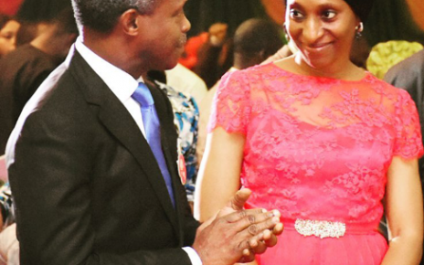 Vice President Yemi Osinbajo in joyous mood as wife, Dolapo clocks 53 - newsheadline247.com