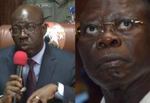 Edo: Oshiomhole bitter because he was refused access to loot state treasury – Obaseki Campaign - newsheadline247.com