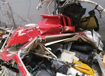 Lagos Helicopter Crash: Blackbox recovered as AIB begins investigation - newsheadline247.com