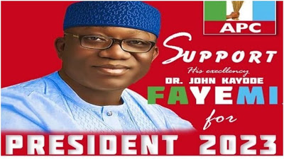 2023: Gov Fayemi's presidential campaign posters go viral on social media - newsheadline247.com
