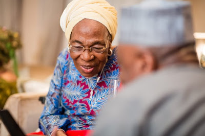 Ex-Senate President Saraki celebrates mother, Florence at 85