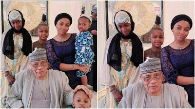 Details: How Rahama Indimi doctored ex-husband's kids out of IBB's Eid-Kabir photo with grandchildren - newsheadline247.com