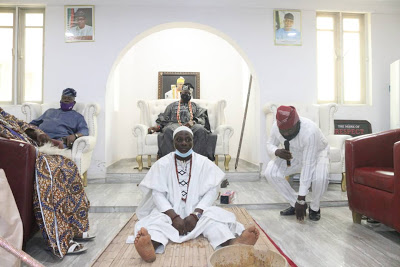 Journey to the throne… Awori monarch-elect begins traditional rites - newsheadline247.com