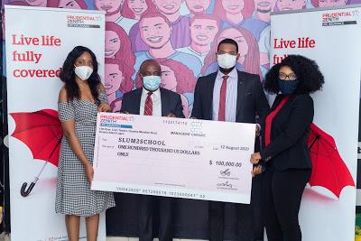 Prudential Zenith Life donates $100,000 usd to slum2school towards fighting effects of COVID-19 in Nigeria - newsheadline247.com