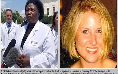 How COVID-19 doctor Stella Immanuel was sued for alleged malpractice after patient's death - newsheadline247.com