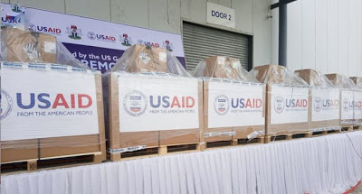 COVID-19: US donates over 200 ventilators To Nigeria - newsheadline247.com