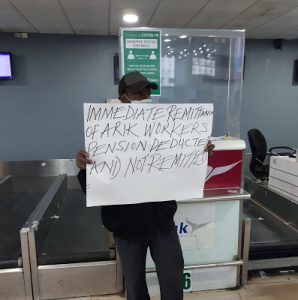 Arik air grounded as staff begins strike over poor condition of service