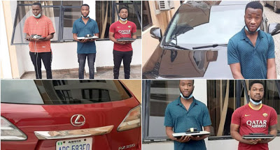 EFCC nabs three suspected internet fraudsters in Abuja - newsheadline247.com