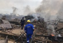 30 People Injured as gas explosion destroyed 23 buildings, 15 vehicles in Lagos - newsheadline247.com