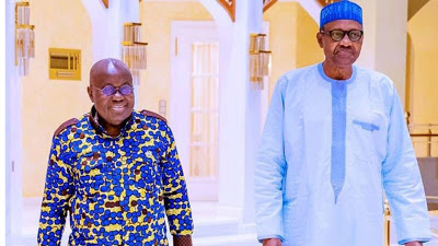 Buhari, Ghanaian President Akufo-Addo, hold closed-door meeting at Aso Villa - newsheadline247.com