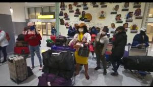 Tens of stranded Nigerian girls evacuated from Lebanon arrive Abuja - newsheadline247.com