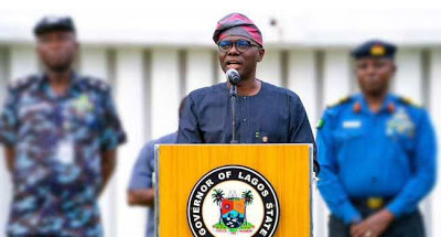 Breaking: #EndSARS: Gov Sanwolu imposes 24-hour curfew in Lagos - newsheadline247.com