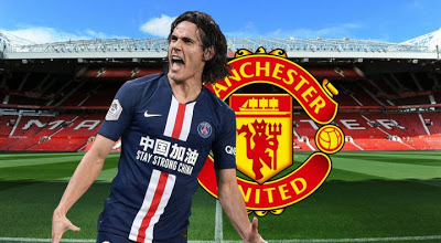 Cavani says Herrera helped convince him to join Man United