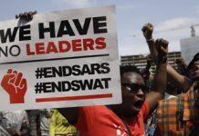 #EndSARS protesters - newsheadline247.com