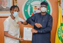 Gov Abiodun appoints BBnaija winner, Laycon Youth Ambassador of Ogun State - newsheadline247.com