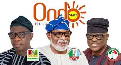 Ondo election: Akeredolu leads as INEC announces results of 15 LGAs