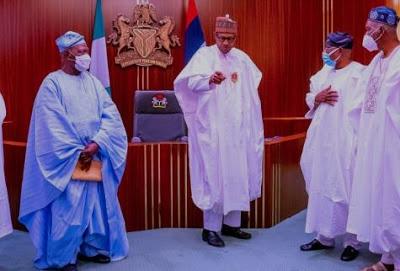 Buhari meets Akande, Osoba, other South-West APC leaders - newsheadline247