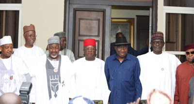 2023 Presidency: APC governors meet ex-president Jonathan in Abuja - newsheadline247.com