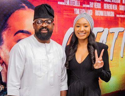 Billionaire Heiress, Temi Otedola, shines as Kunle Afolayan premiers new movie, Citation on Netflix - newsheadline247.com