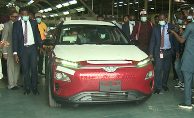 Lagos Gov Sanwo-Olu launches Nigeria's first assembled electric car - newsheadline247.com
