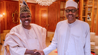 Buhari didn't receive Ogun state money from ex-Gov Amosun – Presidency - newsheadline247.com
