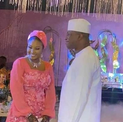 Married Again - Dimeji ties knot with Aisha in a low key wedding ceremony in Abuja - newsheadline247.com