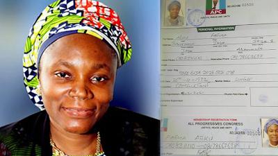 Atiku's daughter, Fatima denies revalidating APC membership - newsheadline247.com