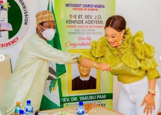 """""""There are video proofs"""" – Tonto Dikeh insists NCPC appointed her Peace Ambassador Tonto - newsheadline247.com"""