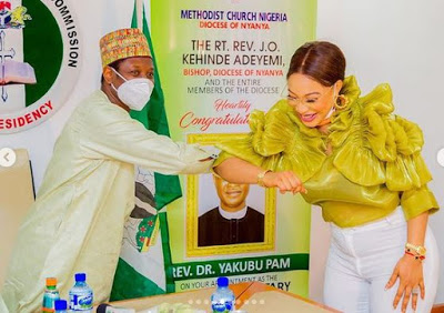 """There are video proofs"" – Tonto Dikeh insists NCPC appointed her Peace Ambassador Tonto - newsheadline247.com"