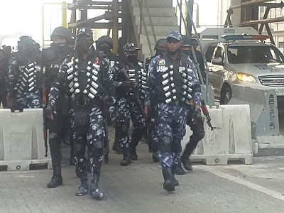 #EndSARS: Police position Egbeyemi-led team at Lekki toll gate ahead of protest