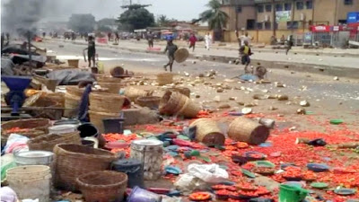 Ethnic clash breaks out in Ibadan after cart pusher stabs cobbler to death - newsheadline247.com