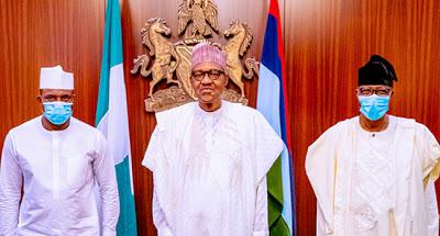 Buhari receives defected APC members, OGD, Dimeji Bankole - newsheadline247.com