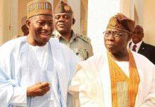 Ex- President Jonathan extols Obasanjo at 84 - newsheadline247.com