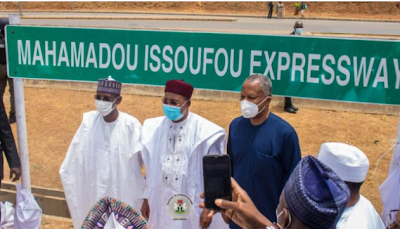 Buhari names Abuja expressway after Niger Republic President Mahamadou newsheadline247.com