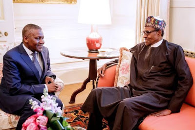 Buhari extols Africa richest man, Aliko Dangote at 64 - newsheadline247.com
