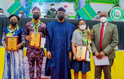 Governor Abiodun splashes N7m, house gifts on state's best students - newsheadline247.com