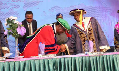 Take Full Responsibility for Your Future, Dr Oyedepo Admonishes Graduating Students - newsheadline247.com