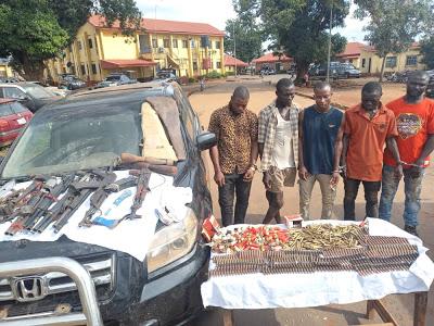 Ebonyi Police intercept 753 GPMG ammunition in Abakaliki - newsheadline247.com