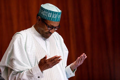 Buhari joins worshipers to pray for peace, unity in Nigeria - newsheadline247.com